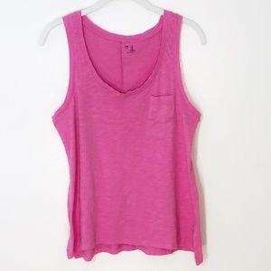 🌊 5/$35! GAP tank top pink medium
